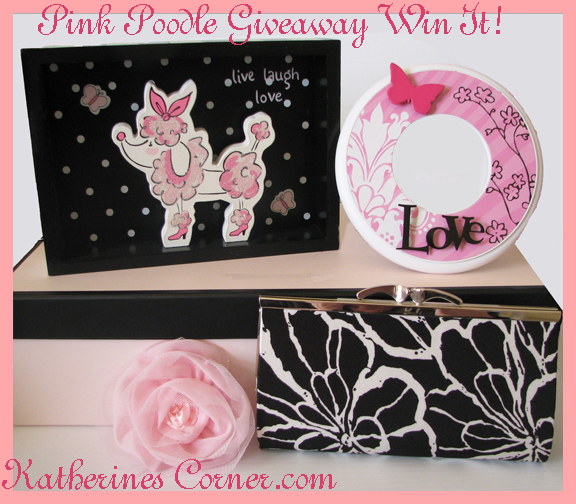 Design Your Own Swag Contest Ends Today: Pink Poodle Giveaway