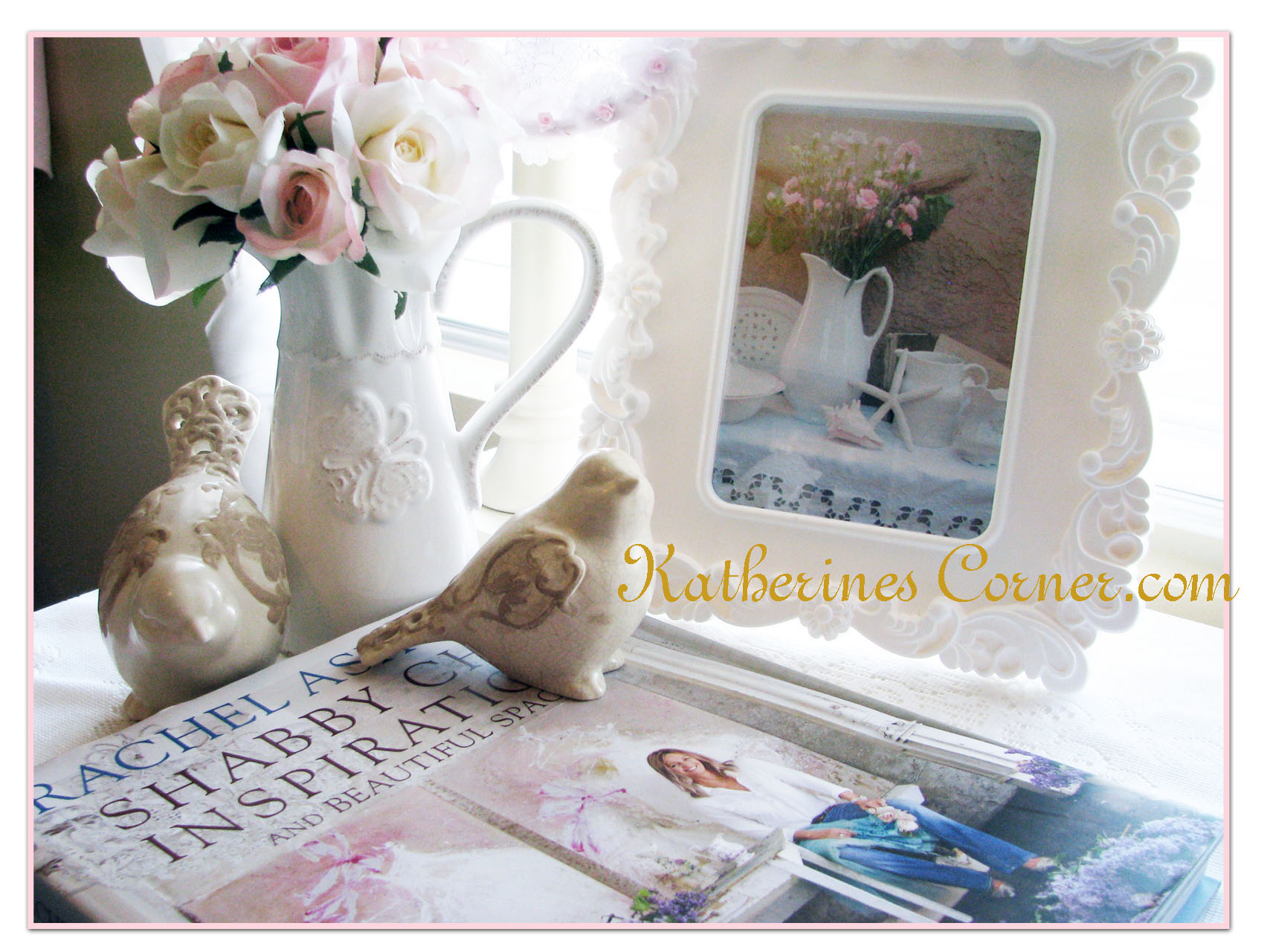 wordless wednesday shabby chic inspiration katherines corner. Black Bedroom Furniture Sets. Home Design Ideas