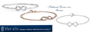 blue nile infinity bracelet review
