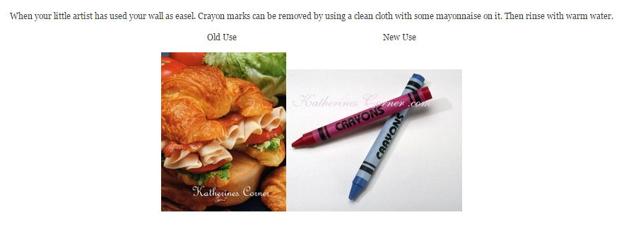 new uses for crayons- katherines corner