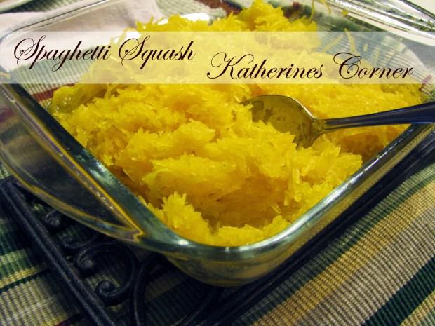 spaghetti squash katherines corner