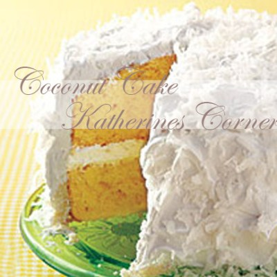 Yummy Coconut Cake Recipe