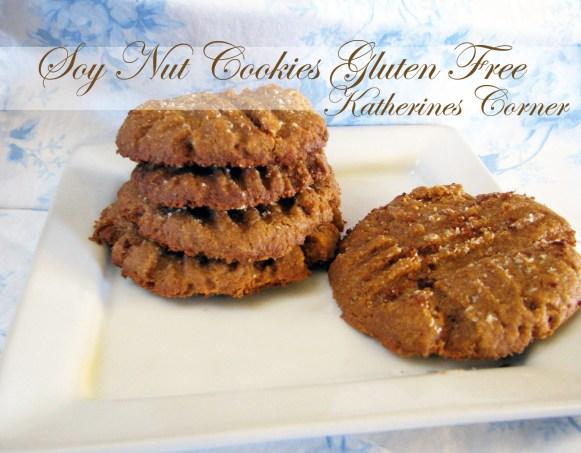 soy nut cookies gluten free