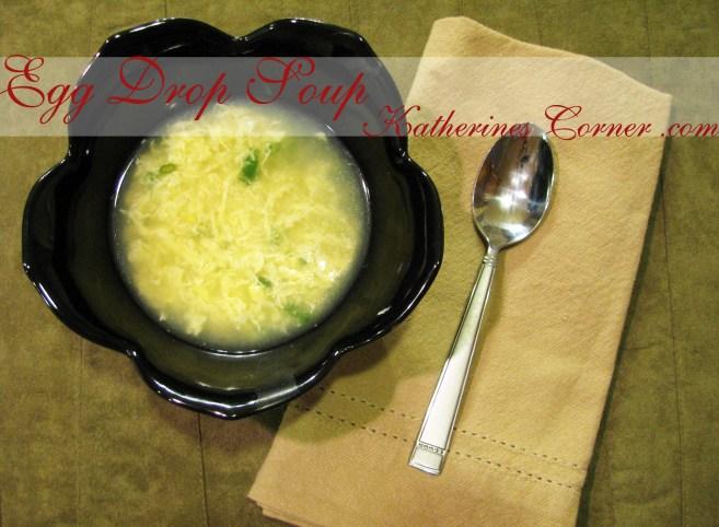 egg drop soup recipe katherines corner