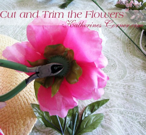 cut and trim the flowers katherines corner