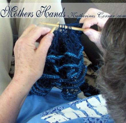 mothers hands katherines corner