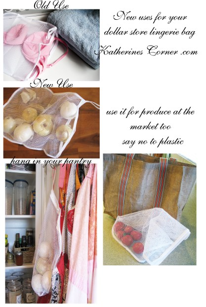 new use for lingerie bag