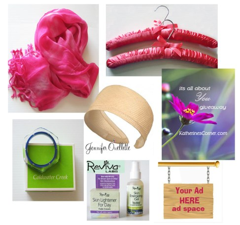 its all about you giveaway prizes