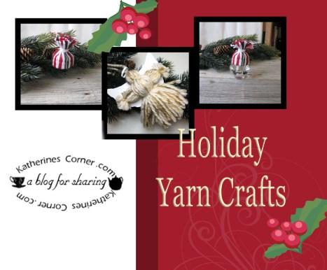 how to make a yarn angel