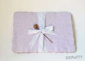 shop witty purple paper