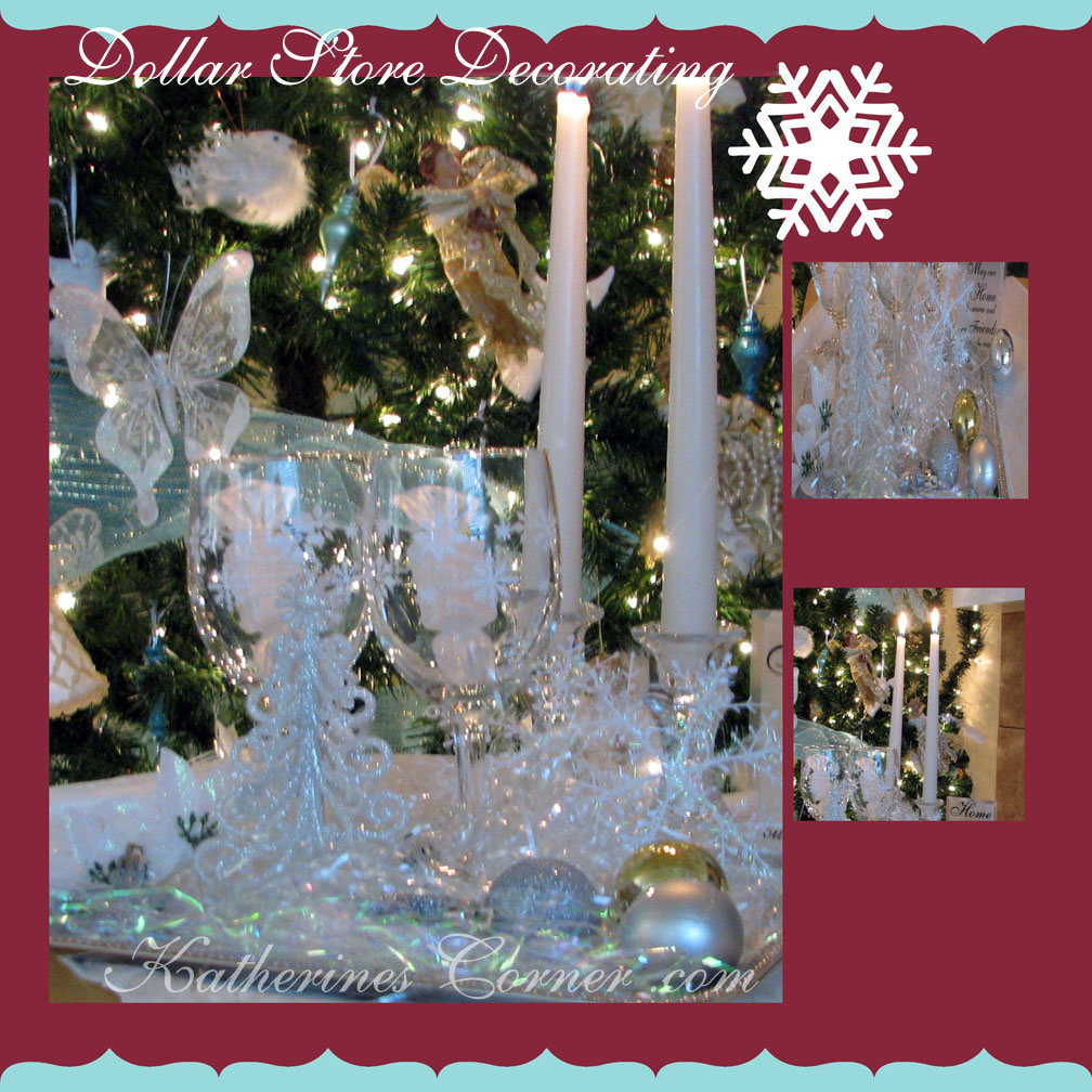 Dollar Tree Christmas Decor - Katherines Corner