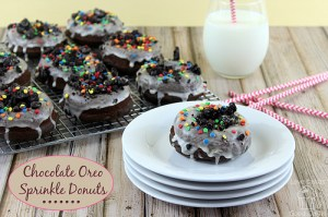 chocolate oreo donuts