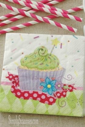 birthday napkin