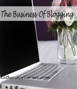 the business of blogging