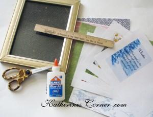 seasons frame craft supplies