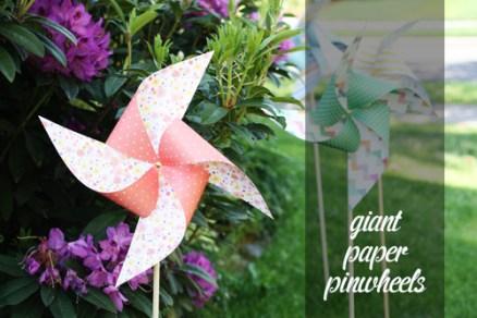 giant paper pinwheels