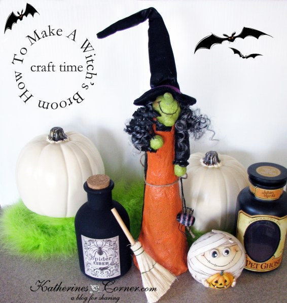how to make a witchs broom