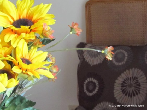 sunflower vignette