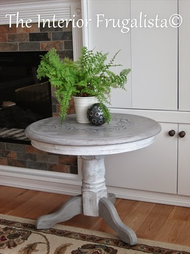 Medallion Table makeover