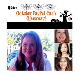 october paypal cash giveaway
