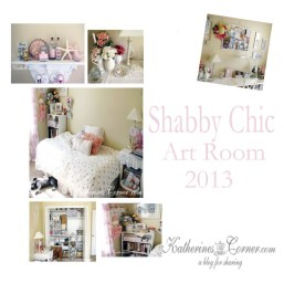 shabby chic artroom