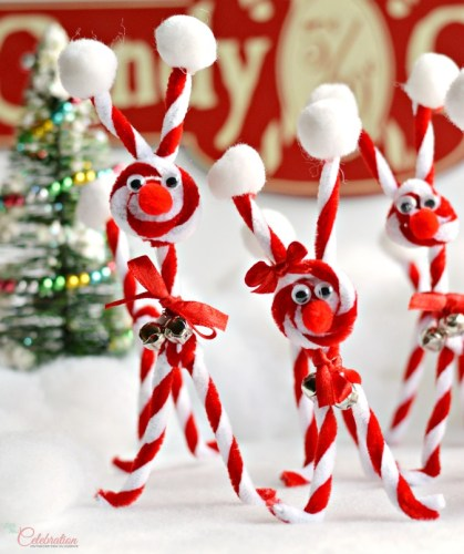 reindeer pipe cleaner craft