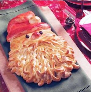 santa claus bread