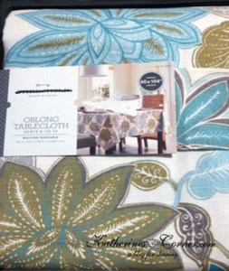 Target Threshold Floral Rectangle Tablecloth