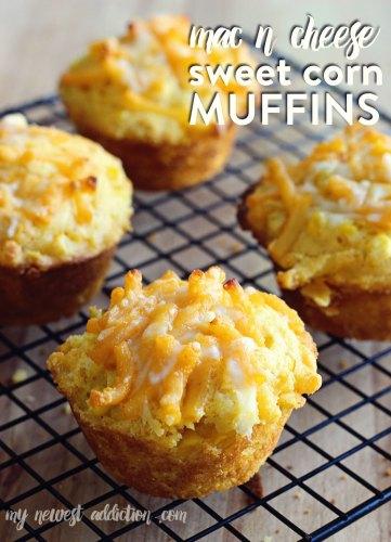 mac n cheese muffins