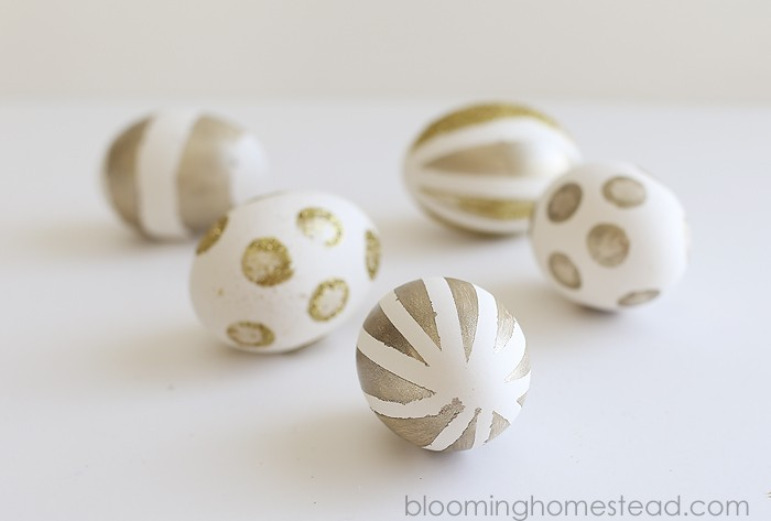 Easy Gold-Painting-Eggs