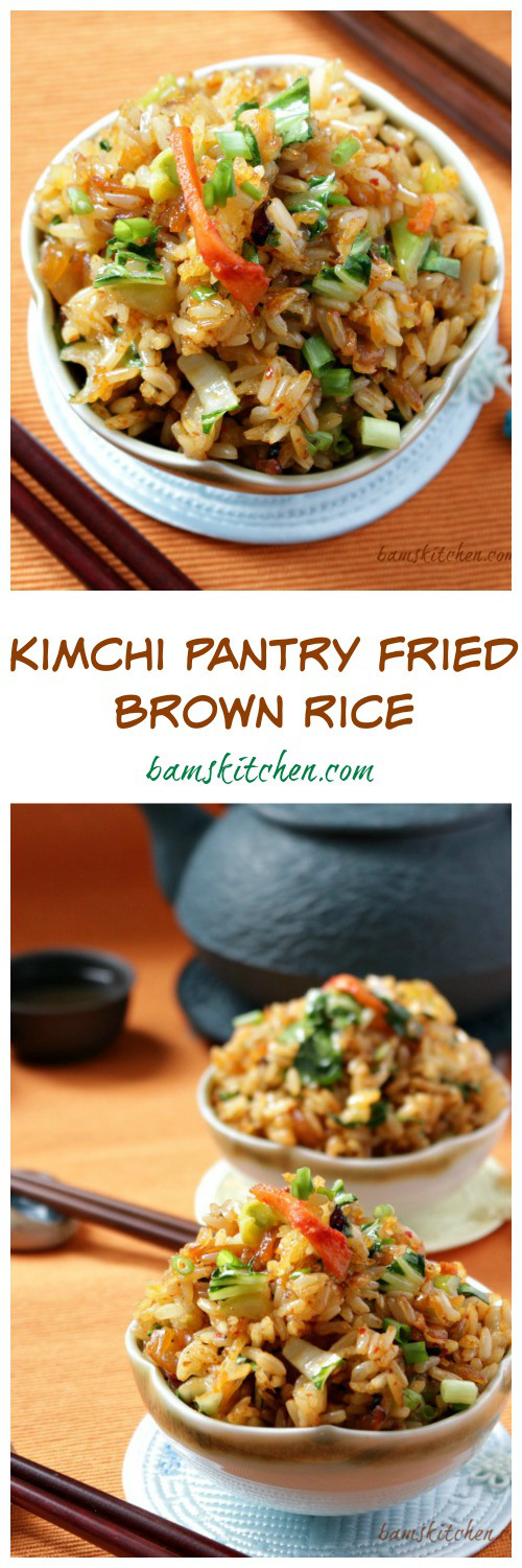 kimichi fried rice