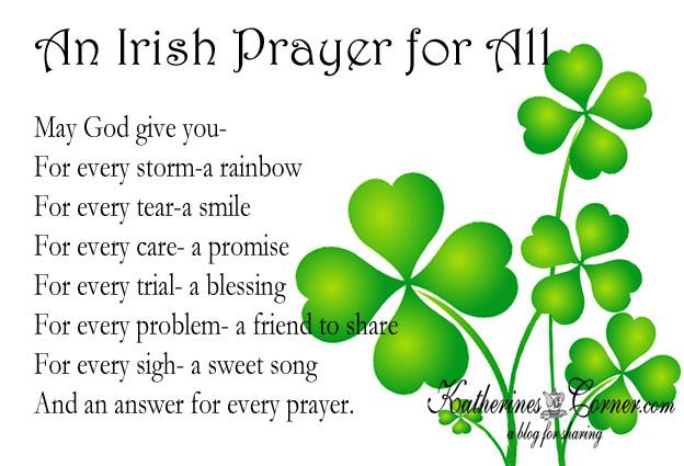 an irish prayer for all
