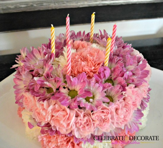how-to-make-a-flower-cake-