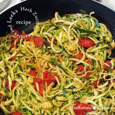 herb- zucchini- tomatoes- and- leeks-recipe-katherines-corner