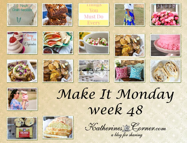make it monday week forty eight