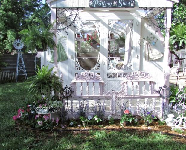 planting an old fashion garden