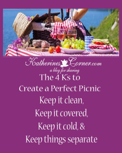 create a perfect picnic with Katherines Corner 4k's
