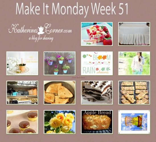 make it monday week fifty one