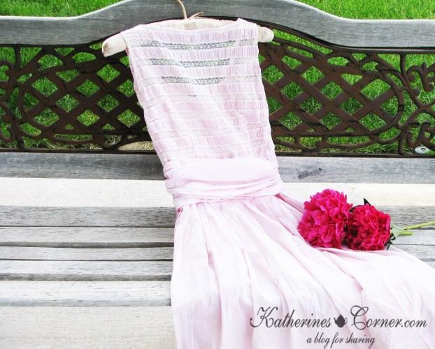 pink dress 1960