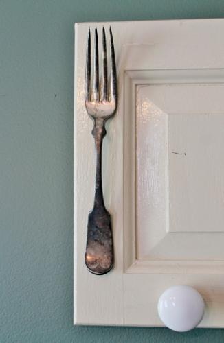 re purposed cupboard door