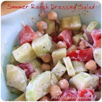summer ranch salad