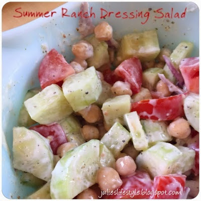 summer ranch salad