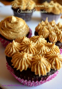 Biscoff-Buttercream-Iced-Chocolate-Cupcake