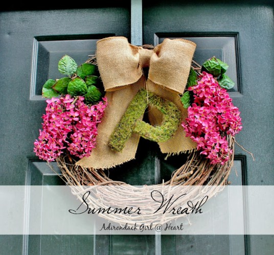 summer wreath diy
