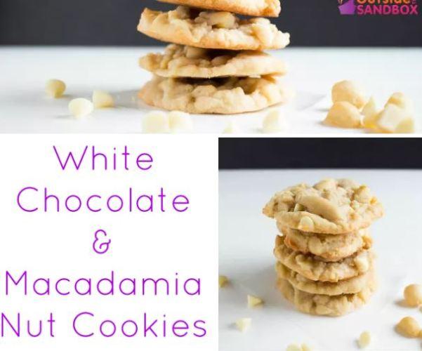 white chocolate macadameia nut cookies
