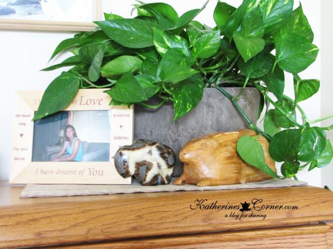 decorating with precious mementos carved rabbit