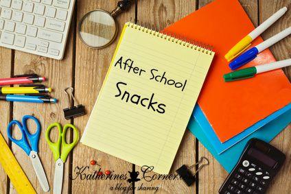 after school snacks