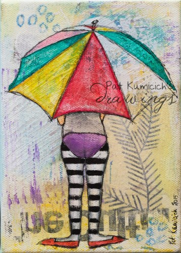 artful diva whimsical art work