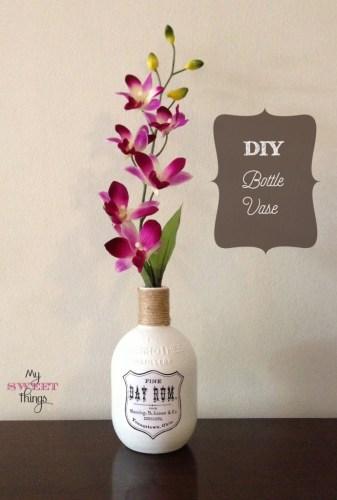 diy bottle vases