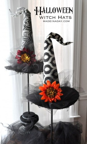 diy witch hat decor